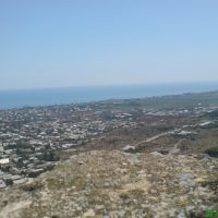 Вид с Нарын -Кала., Дербент