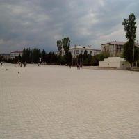 Каспийск.Центральная площадь, Каспийск