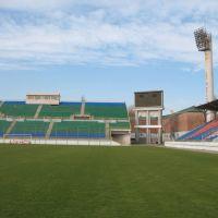 """Стадион """"Динамо"""" (вид на табло с поля), Махачкала"""
