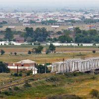 Железнодорожные мосты через р. Сунжа на окраине Гудермеса, 21/08/2011, Терекли-Мектеб