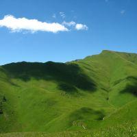 Dagestan, road to village Burshimaka; Дагестан, дорога к селу Буршимака, Тпиг