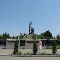 Хасавюрт. Холм памяти (мемориал памяти защитников Родины), Хасавюрт