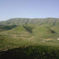 Вид на хребет Нитар, Хив