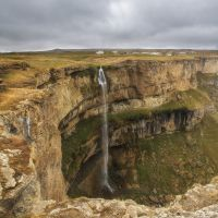 Водопад., Хунзах