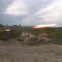 GRAD - Bu-Bum..Combined-arms night-time training. Russia.Mulino. 2009, Верхний Ландех