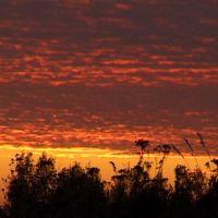 After sunset, Верхний Ландех