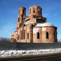 Церковь Серафима Саровского (строится)., Верхний Ландех