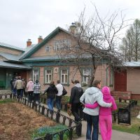 г. Чкаловск. Дом В.И. Чкалова . The Chkalovsk.The  House of V.I. Chkalov, Верхний Ландех