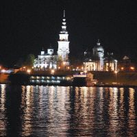 Кинешма ночью. Kineshma in the night., Верхний Ландех