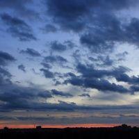 Вечернее небо, Верхний Ландех