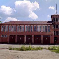 Пожарное депо. Фото 2005 г., Вичуга