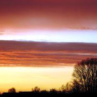 Весенний закат, Гаврилов Посад