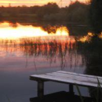 Вечер на пруду, Гаврилов Посад