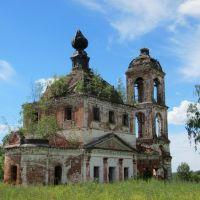 Архангельская церковь села Пронина., Дуляпино