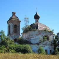 Знаменская церковь села Жукова., Дуляпино
