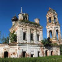 Николаевская церковь села Океевского., Дуляпино