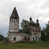 Архангельская церковь села Березники., Дуляпино
