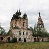 Троицкая церковь села Марьинского., Дуляпино