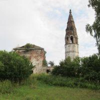 Николаевская церковь села Иванцева., Дуляпино