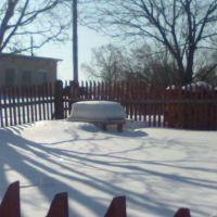зима в деревне, Дуляпино