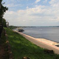 Кинешма. река Волга / Kineshma. Volga river, Кинешма