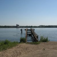 Бывшая пристань Заволжска, Кинешма