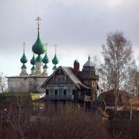 Дом В.Ф. Нагорского и  Спасо-Преображенская церковь, Кинешма