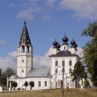 Church in Palech, Russia, Палех