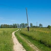 Проселочная дорога, Палех
