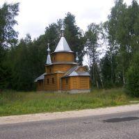 Палех, церковь на кладбище, Палех
