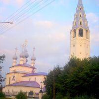 Церковь Воздвиженья Креста Господня, 1693, Палех