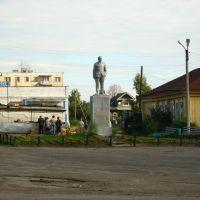 Площадь, памятник В.И.Ленину, Пестяки