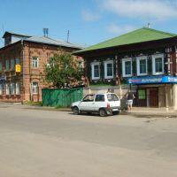 На площади., Приволжск