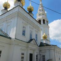 Николаевская церковь села Яковлевского. Основной объем храма., Приволжск
