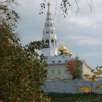Вид на собор с Мухина моста, Приволжск