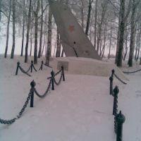 памятник лётчику Журину, Пучеж