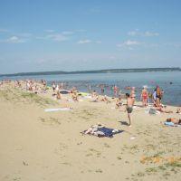 Пляж г. Пучеж в разгар лета, Пучеж