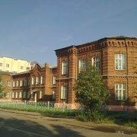 Old Center. Central hospital of Rodniki region, Родники