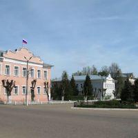 Центральная полощадь города Родники, Родники