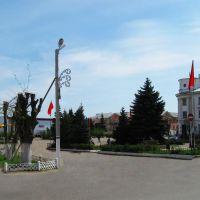 Центральная полощадь города Родники