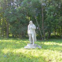 Памятник Герцену на территории Родниковской ЦРБ, Родники