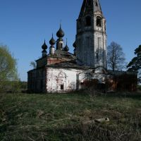 Заброшенная церковь в Сокольском, Вичугский р-н, Сокольское