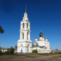 Крестовоздвиженская церковь в Тихоновой пустыни., Сокольское