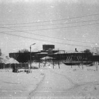 вид на ХБК вдоль берега Вязьмы 1971 год, Тейково
