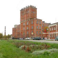 Южа. Прядильный корпус фабрики А.Я. Балина (27.09.2005 года), Южа
