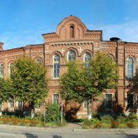 Южа. Бывшая богодельня построенная фабрикантом А.Я. Балиным (27.09.2005 года), Южа