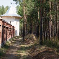 вдоль забора, Саянск