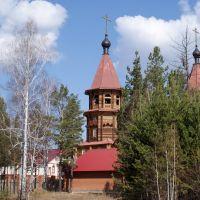 весна, храм, Саянск