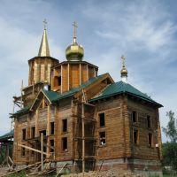Строительство Свято-Никольского храма в поселке Култук, Култук