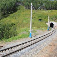 5298-й км Транссиба. Нижний Прибайкальский тоннель, Култук